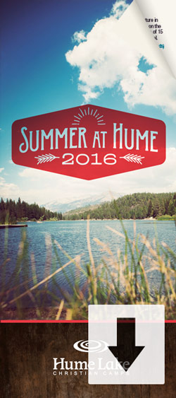 Download the Summer at Hume Brochure